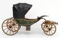 Carruagem para criança utilizada pela arquiduquesa Gisela (1855 - 1860)