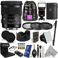 Sigma 50mm F1.4 DG HSM Art Lens for Canon EOS 5D Mark III 7D Mark II 6D 5DS R