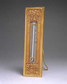 #Tiffany -- Thermometer -- Designed by Louis Comfort Tiffany -- Circa 1905–20