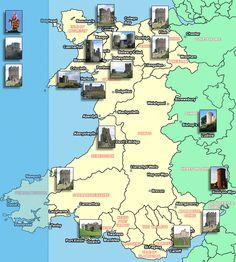 Castles in Wales