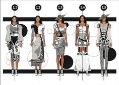 Fashion Illustration Portfolio, Fashion Illustration Face, Fashion Portfolio Layout, Fashion Design Sketchbook, Fashion Design Drawings, Fashion Sketches, Mode Hip Hop, Mode Pop, Fashion Communication