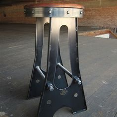 A Frame Bar Stool | Vintage Industrial Furniture