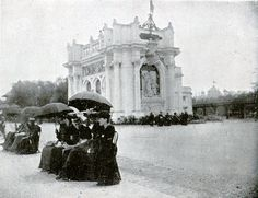 #French Pavilion, at 1893, Chicago World's Fair #Chicago #WorldsFair