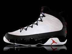 Air Jordan IX -shoe on Chicago statue -turned into a baseball cleat -first use if speed-lacing -inspired by Japanese simplicity Jordan Basketball Shoes, Basketball Sneakers, Sneakers Nike, Sports Basketball, Nike Shoes, Air Jordan 9, Air Jordan Shoes, Jordan Swag, Buy Shoes