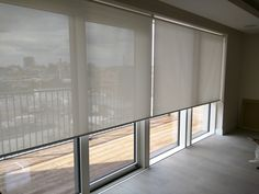 sunscreen roller blinds floor to ceiling windows sliding doors london