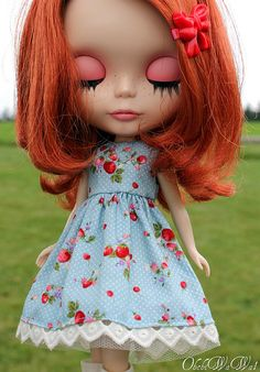 If Maddie played with dolls, I would so get her a Blythe Doll. (they run in the thousands! $$$)