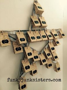 Here's a simple DIY Advent Calendar idea/tutorial. It's a great way to personalized your holidays!