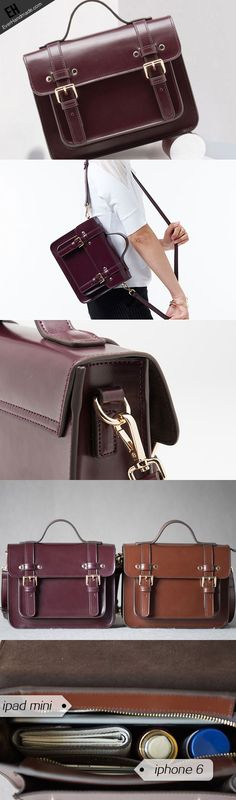 Genuine Leather Satchel bag shoulder bag for women leather crossbody bag