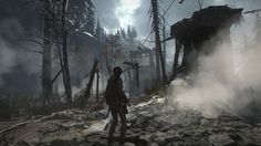 ArtStation - Rise of The Tomb Raider - Geothermal Valley, Dannie Carlone Rise Of The Tomb, Universe Art, Lara Croft, Zbrush, Abandoned Places, New Movies, Raiders, The Good Place, Concept Art