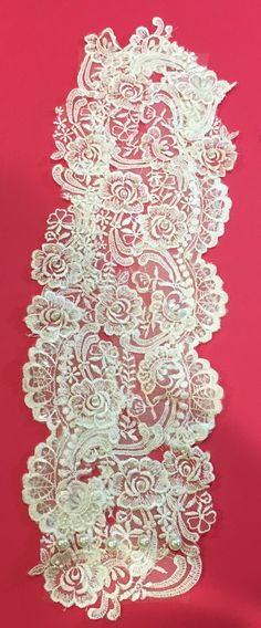 Bouquet wrap made from Mom or Grandma's wedding gown or other vintage fabrics makes a reasonably priced special addition to your wedding that can be handed down through generations