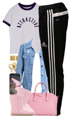 """Untitled #1439"" by power-beauty ❤ liked on Polyvore featuring Majolie Collections, adidas and UGG Australia"