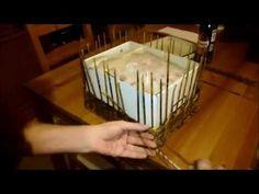 Tutorial Cestino Rettangolare con fondo in cartone ricoperto di tessuto. - YouTube