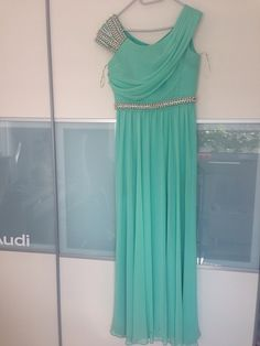 Maxikleid in Mint