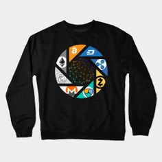 Shop The New world! blockchain kids long sleeve t-shirts designed by Jiggabola as well as other blockchain merchandise at TeePublic. Graphic Sweatshirt, T Shirt, Blockchain, Shirt Designs, Sweatshirts, Long Sleeve, Sleeves, Sweaters, Shopping