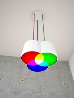 Lámpara RGB ¡me encanta!