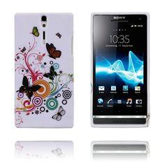 Symphony (Sommerfugler) Sony Xperia S Deksel Sony Xperia, Phone, Telephone, Mobile Phones
