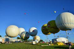 Globos de gas en el Lorraine Mondial Air Balloon de 2013