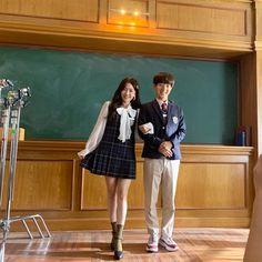 Dr Park, Cute School Uniforms, Thai Drama, Korea Fashion, Drama Movies, Celebs, Celebrities, Second World, Celebrity Crush