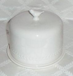 Martha Stewart Collection Serveware, All Ceramic Bird Dome with Plate  #MarthaStewart