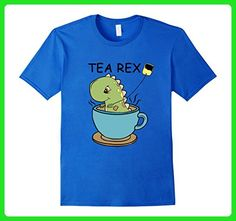 Mens Tea Rex Dinosaur Baby T-shirt Cute Cartoon T Rex 3XL Royal Blue - Animal shirts (*Amazon Partner-Link)