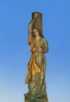Statue venerated at Esaro, Italy. Catania, Sicilian, Saints, Italy, Statue, Gallery, Painting, Collection, Art