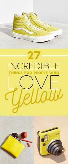26 Incredible Things For People Who Love Yellow