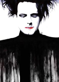 @enriquezelaine would you hang this portrait of robert smith in your home