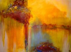 Capricious - acrylic painting by CHRISTINE SOCCIO