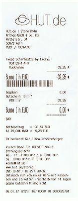 Gutschein für Hut oder Mütze (in Köln)sparen25.com , sparen25.de , sparen25.info