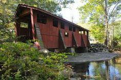 Sleepy Hollow Covered Bridge, Foscoe NC | Flickr - Photo Sharing!
