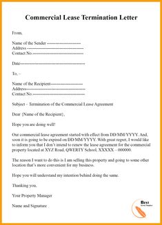 Free End Lease Letter Template Pdf Example Posted by caco. End lease letter template, Regardless of what size of company you work for or own, there will most likely come a time that you need to compose a busin... Best Templates, Letter Templates, Apartment Lease, The Sender, Eviction Notice, Self Storage Units, The Tenant, Letter To Yourself, Business Letter