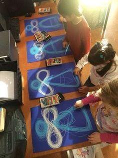 Angel Craft Idea #AngelCraft #ChalkArt #OilPastels #ArtsAndCrafts #ChildrensChurch #SundaySchool