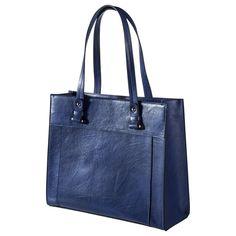 b1addb8301aa Merona  Solid Tote Handbag - Blue Online Price