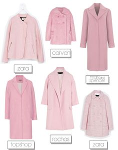 Pink Coat Street Style Inspiration | #sidesmilefaves via Aubrey and Me