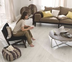 Tarkett laminate flooring is perfect for modern style house, this is popular because it's durable, but what about maintaining? Laminate Flooring, Table, Furniture, Design, Home Decor, Decoration Home, Floating Floor, Room Decor, Tables