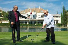 El Restaurante Lago de Marbella recrea gastronmicamente el golf ...