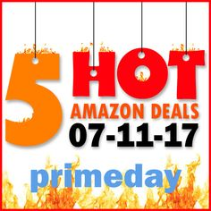 ►► 5 HOT AMAZON DEALS – 7/10/17 ~ #PRIMEDAY ►► #Amazon, #AmazonPrime, #Bargain, #Clearance, #Closeout, #DailyDeal, #Dealoftheday, #Deals, #Discounts, #Frugal, #FrugalFind, #HotBuys, #LowestPrice, #PrimeDay, #PrimeDay2017, #Sale ►► Freebie Depot