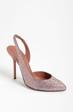 These Gucci Crystal Slingbacks would be perfect for Lexy to wear in Vegas where the book Murder, Money and Marzipan is set.
