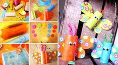 ★ ✄ DIY Papillons Rouleaux Carton / DIY Toilet Paper Tubes Butterfly ★ ✄    www.creamalice.com