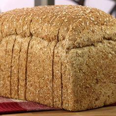 Bread Machine 9 Grain Bread Recipe from CDKitchen 5 Grain Bread Recipe, Whole Grain Bread Machine Recipe, Multigrain Bread Machine Recipe, Bread Machine Recipes Healthy, Best Bread Machine, Bread Maker Recipes, Healthy Recipes, Cereal Bread, Bread Baking
