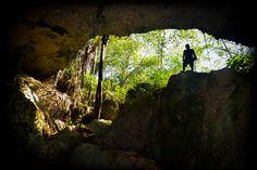 La Varadero, Matanzas, Cuba. Cueva de saturno