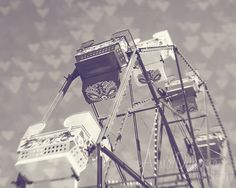 This wasn't taken at the SFWV, but isn't lovely?? Black and White Photography  Ferris Wheel Love 3  by annadykema