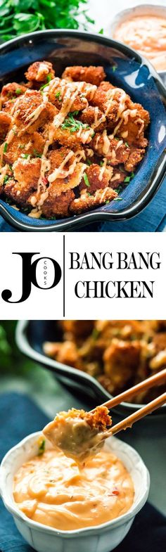 Bang Bang Chicken - From the super crispy chicken to the delicious sweet chili mayo, this recipe is perfection!