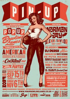 50 Mind-Blowing Artworks Where #PinUp Art Meets #Typography | http://www.webdesign.org/web-design-basics/web-typography/stunning-examples-of-typography-and-pin-up-symbiotic-relationships.21539.html