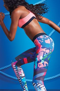 A tight that exudes your vibrant energy. The new Nike Tight of the Moment x N+TC Tour Los Angeles.