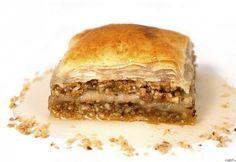 Bahlava rózsavízzel Spanakopita, Greek Recipes, Sandwiches, Cooking Recipes, Ethnic Recipes, Food, Traditional, Chef Recipes, Essen