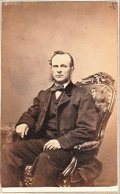 This CdV Cabinet Card Photo States James C Quitmeler May 32 Years Old There Is No Location Noted
