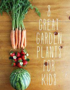 The Road to the Good Life | Raising a Foodie: 8 Great Garden Plants for Kids