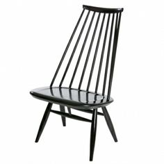 The Artek Mademoiselle lounge chair was designed in 1956 by Ilmari Tapiovaara for Artek. The slightly inclined seat back and tilted seat of Mademoiselle lounge Rustic Furniture, Modern Furniture, Furniture Design, Painted Furniture, Lacquer Furniture, Scandinavian Furniture, Furniture Chairs, Lounge Chair, Rocking Chair