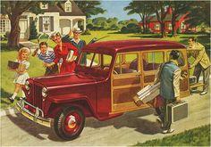 Jeep Steel Wagon advertisement.